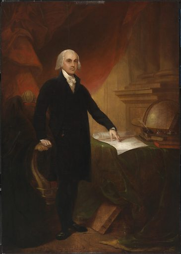 James Madison. Sitter: James Madison, 16 Mar 1751 – 28 Jun 1836. Date: 1800s. Record ID: npg_NPG.2019.32.