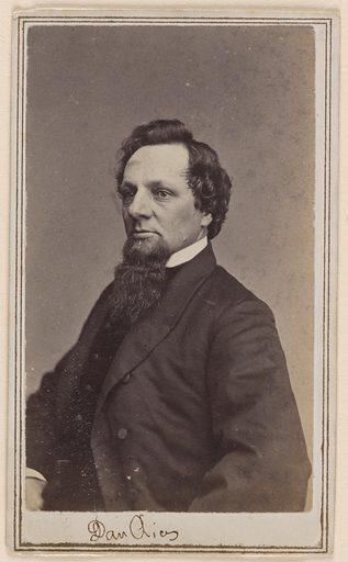 Dan Rice. Sitter: Dan Rice, 23 Jan 1823 – 22 Feb 1900. Date: 1860s. Record ID: npg_NPG.80.215.