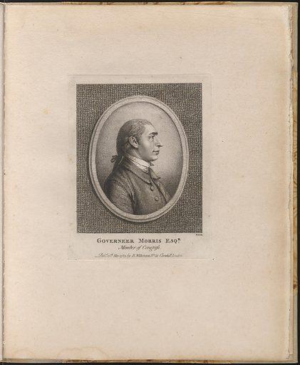 Gouverneur Morris. Sitter: Gouverneur Morris, 31 Jan 1752 – 6 Nov 1816. Date: 1780s. Record ID: npg_NPG.75.67.