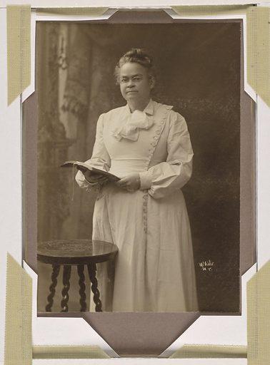 Carrie Amelia Moore Nation. Sitter: Carrie Amelia Moore Nation, 25 Nov 1846 – 9 Jun 1911. Date: 1900s. Record ID: npg_NPG.80.197.