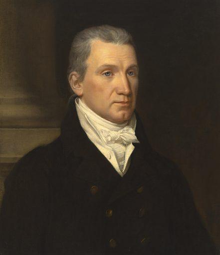 James Monroe. Sitter: James Monroe, 28 Apr 1758 – 4 Jul 1831. Date: 1810s. Record ID: npg_NPG.70.59.