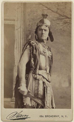 Edward Loomis Davenport. Sitter: Edward Loomis Davenport, 19 Nov 1814 – 1 Sep 1877. Date: 1860s. Record ID: npg_NPG.80.152.