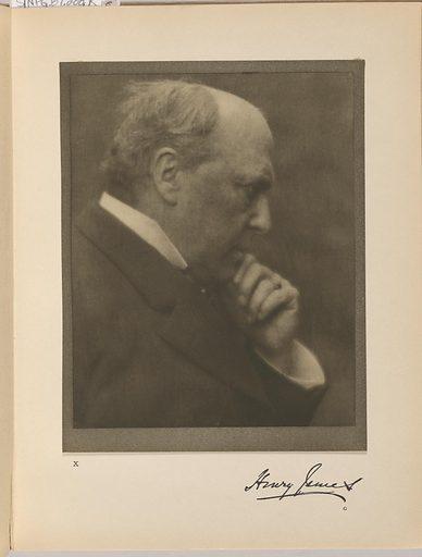 Henry James. Sitter: Henry James, 15 Apr 1843 – 28 Feb 1916. Date: 1900s. Record ID: npg_NPG.87.288.J.