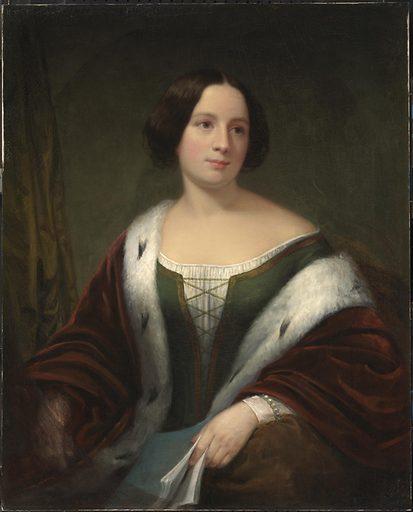 Jenny Lind. Sitter: Jenny Lind, 6 Oct 1821 – 2 Nov 1887. Date: 1850s. Record ID: npg_NPG.94.123.