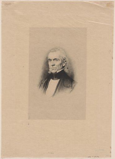 James K. Polk. Sitter: James Knox Polk, 2 Nov 1795 – 15 Jun 1849. Date: 1900s. Record ID: npg_S_NPG.67.92.