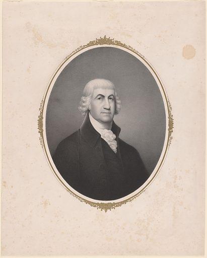 Caleb Strong. Sitter: Caleb Strong, 9 Jan 1746 – 7 Nov 1819. Date: 1840s. Record ID: npg_S_NPG.80.38.