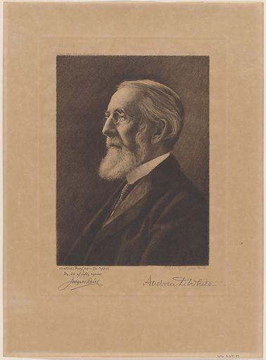 Alexander Dickson White. Sitter: Alexander Dickson White, 1832 – 1918. Date: 1910s. Record ID: npg_S_NPG.67.89.