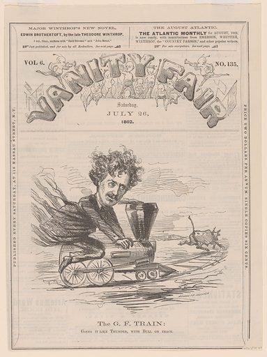 George Francis Train. Sitter: George Francis Train, 24 Mar 05 Jan 1829 – 1904. Date: 1860s. Record ID: npg_S_NPG.78.164.