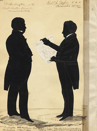 William Darlington and Robert Taylor. Sitters: William Darlington, 1782 – 1863; Richard Cowling Taylor, 1789 – 1851. Date: 1840s. Record ID: npg_NPG.91.126.85.B.