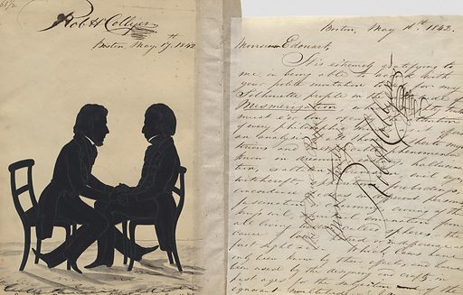 Robert H. Collyer and Monsieur De Bonneville. Sitters: Robert H. Collyer; Monsieur De Bonneville, 19th Century. Date: 1840s. Record ID: npg_S_NPG.91.126.65.B.