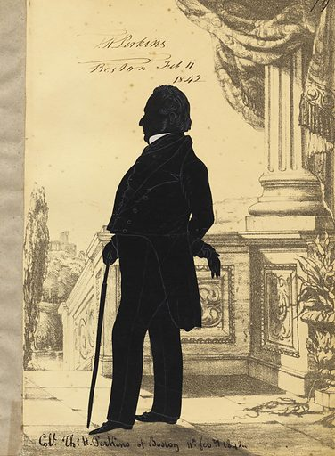 Thomas Handasyd Perkins. Sitter: Thomas Handasyd Perkins, 15 Dec 1764 – 11 Jan 1854. Date: 1840s. Record ID: npg_NPG.91.126.84.A.