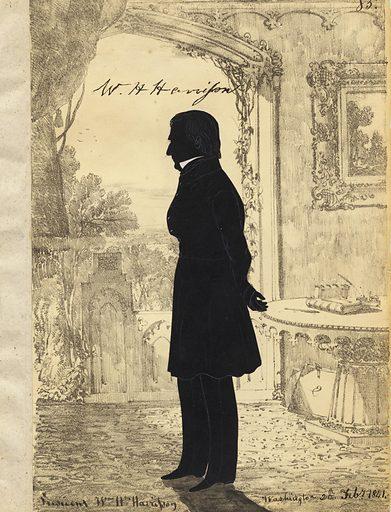 William Henry Harrison. Sitter: William Henry Harrison, 9 Feb 1773 – 4 Apr 1841. Date: 1840s. Record ID: npg_NPG.91.126.89.A.