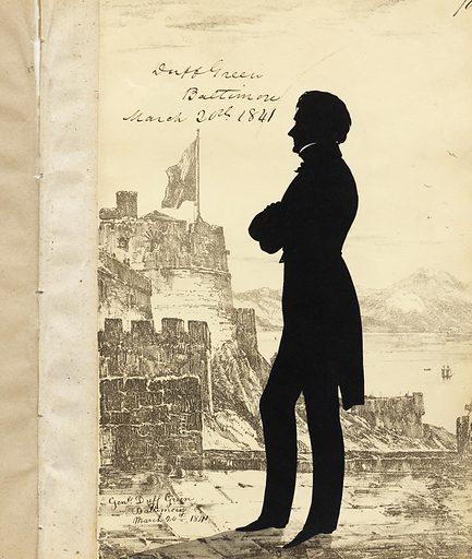 Duff Green. Sitter: Duff Green, 15 Aug 1791 – 10 Jun 1875. Date: 1840s. Record ID: npg_NPG.91.126.74.A.