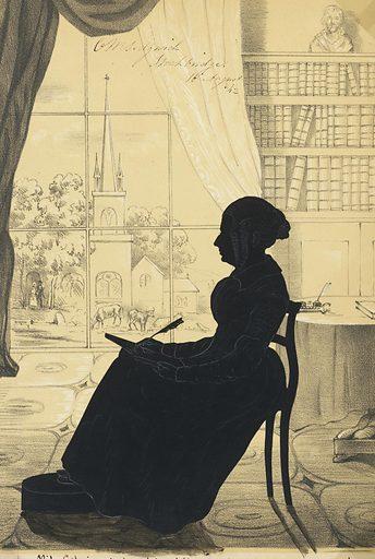 Catherine Maria Sedgwick. Sitter: Catherine Maria Sedgwick, 28 Dec 1789 – 31 Jul 1867. Date: 1840s. Record ID: npg_NPG.91.126.56.A.
