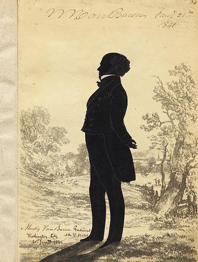 Martin Van Buren. Sitter: Martin Van Buren, 5 Dec 1782 – 24 Jul 1862. Date: 1840s. Record ID: npg_NPG.91.126.88.A.