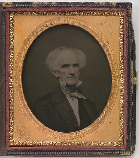 James Barton Longacre. Sitter: James Barton Longacre, 11 Aug 1794 – 1 Jan 1869. Date: 1850s. Record ID: npg_NPG.77.305.