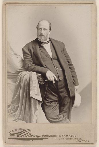 William Marcy Tweed. Sitter: William Marcy Tweed, 3 Apr 1823 – 12 Apr 1878. Date: 1860s. Record ID: npg_NPG.77.154.