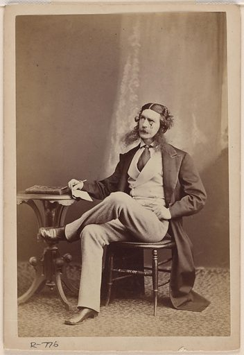 Edward Askew Sothern. Sitter: Edward Askew Sothern, 1 Apr 1826 – 20 Jan 1881. Date: 1860s. Record ID: npg_NPG.78.99.