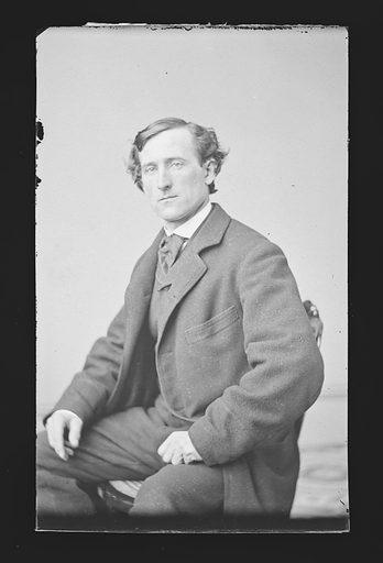 H. F. Daly. Sitter: H. F. Daly. Date: 1860s. Record ID: npg_NPG.81.M630.
