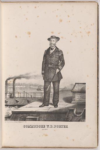 William D. Porter. Sitter: William David Porter, 10 Mar 1808 or 1809 – 1 May 1864. Date: 1860s. Record ID: npg_NPG.99.126.4.