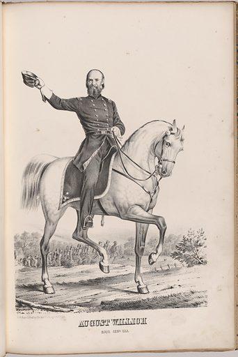 August Willich. Sitter: August (von) Willich, 19 Nov 1810 – 22 Jan 1878. Date: 1860s. Record ID: npg_NPG.99.126.21.