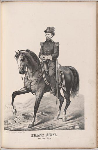 Franz Sigel. Sitter: Franz Sigel, 18 Nov 1824 – 21 Aug 1902. Date: 1880s. Record ID: npg_NPG.99.126.24.