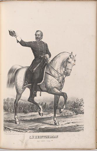 Samuel P. Heintzelman. Sitter: Samuel Peter Heintzelman, 30 Sep 1805 – 1 May 1880. Date: 1880s. Record ID: npg_NPG.99.126.25.