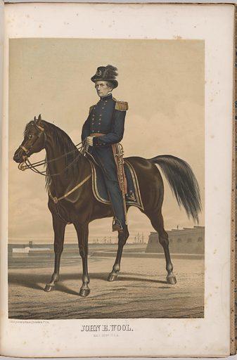 John E. Wool. Sitter: John Ellis Wool, 29 Feb 1784 – 10 Nov 1869. Date: 1880s. Record ID: npg_NPG.99.126.33.