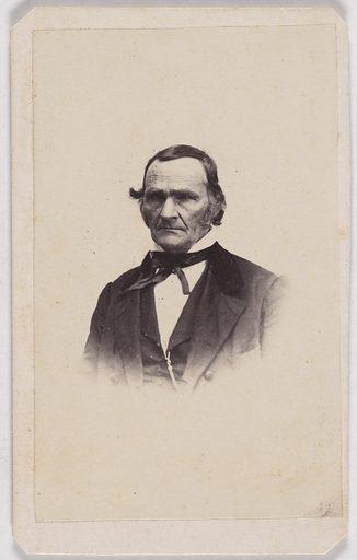 Jesse Root Grant. Sitter: Jesse Root Grant, 23 Jan 1794 – 29 Jun 1873. Record ID: npg_S_NPG.79.246.153.