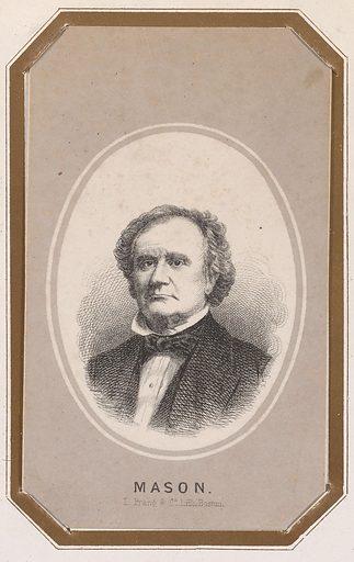 James Murray Mason. Sitter: James Murray Mason, 3 Nov 1798 – 28 Apr 1871. Date: 1850s. Record ID: npg_NPG.83.7.C.