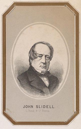 John Slidell. Sitter: John Slidell, 1793 – 29 Jul 1871. Date: 1850s. Record ID: npg_NPG.83.7.D.