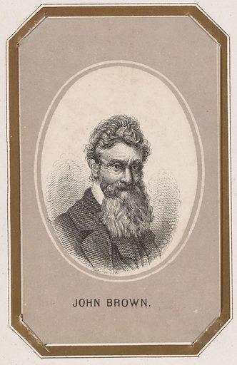John Brown. Sitter: John Brown, 9 May 1800 – 2 Dec 1859. Date: 1850s. Record ID: npg_NPG.83.7.U.