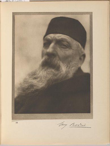 Auguste Rodin. Sitter: François Auguste René Rodin, 12 Nov 1840 – 17 Nov 1917. Date: 1900s. Record ID: npg_S_NPG.87.288.i.