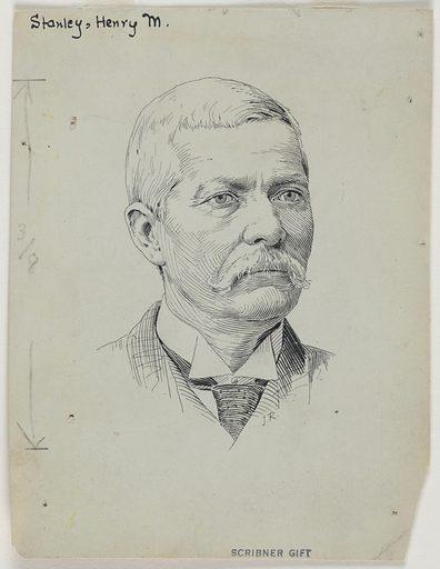 Henry Morton Stanley. Sitter: Henry Morton Stanley, 28 Jan 1841 – 10 May 1904. Date: 1880s. Record ID: npg_S_NPG.72.76.