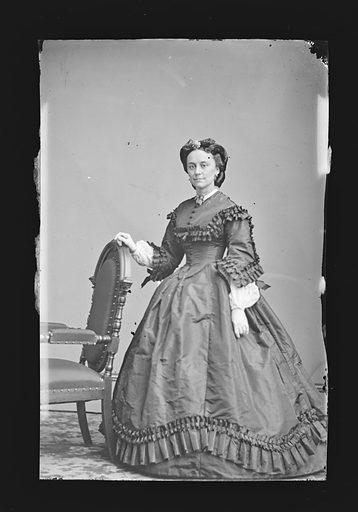 Mrs. George Brinton McClellan [Ellen Marcy]. Sitter: Mary Ellen Marcy McClellan, 06 May 1835 – 13 Feb 1915. Date: 1860s. Record ID: npg_NPG.81.M1097.