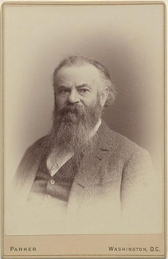 John Wesley Powell. Sitter: John Wesley Powell, 24 Mar 1834 – 23 Sep 1902. Date: 1880s. Record ID: npg_NPG.82.98.