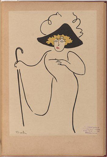 Lillian Russell. Sitter: Lillian Russell, 4 Dec 1861 – 6 Jun 1922. Date: 1920s. Record ID: npg_NPG.84.229.7.