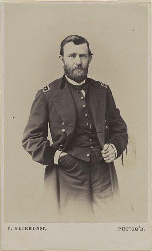 Ulysses S. Grant. Sitter: Ulysses Simpson Grant, 27 Apr 1822 – 23 Jul 1885. Date: 1880s. Record ID: npg_NPG.82.94.