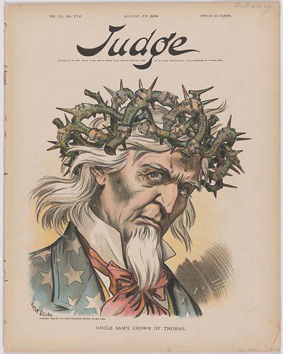 Falstaff (Bryan) Reviews His Ragged Army. Sitter: William Jennings Bryan, 19 Mar 1860 – 26 Jul 1925. Date: 1890s. Record ID: npg_S_NPG.77.7.