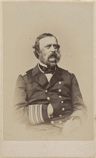 Samuel Francis Du Pont. Sitter: Samuel Francis Du Pont, 27 Sep 1803 – 23 Jun 1865. Date: 1860s. Record ID: npg_NPG.82.93.