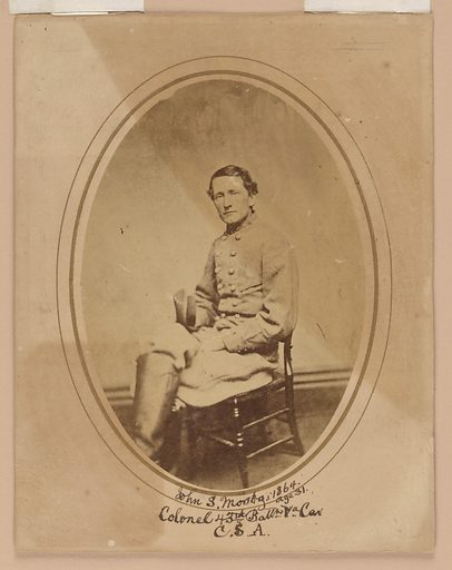 John Singleton Mosby. Sitter: John Singleton Mosby, 6 Dec 1833 – 30 May 1916. Date: 1880s. Record ID: npg_NPG.81.30.