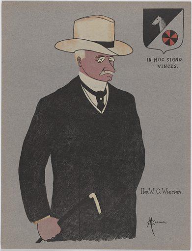 William Collins Whitney. Sitter: William Collins Whitney, 5 Jul 1841 – 2 Feb 1904. Date: 1900s. Record ID: npg_NPG.96.96.4.