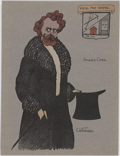 William Andrews Clark. Sitter: William Andrews Clark, 1839 – 1925. Date: 1900s. Record ID: npg_NPG.96.96.8.