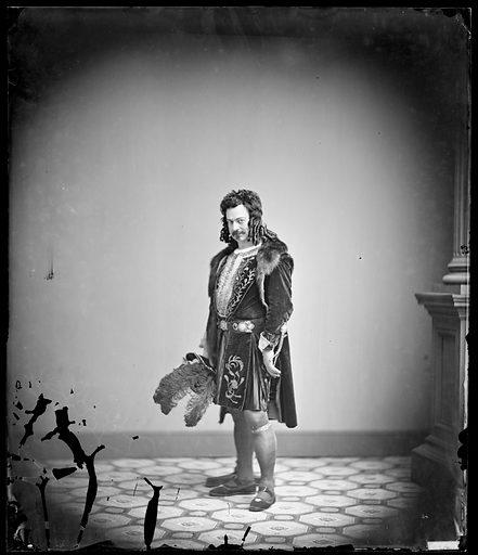 Edwin Forrest as Richard III. Sitter: Edwin Forrest, 9 Mar 1806 – 12 Dec 1872. Date: 1850s. Record ID: npg_NPG.88.95.