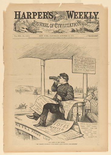 All Quiet on the Hudson. Sitter: George Brinton McClellan, 3 Dec 1826 – 29 Oct 1885. Date: 1870s. Record ID: npg_S_NPG.79.58.