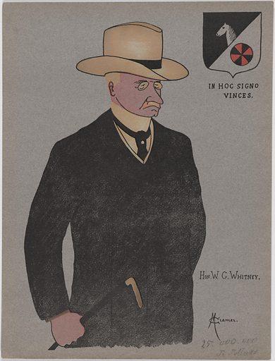 William Collins Whitney. Sitter: William Collins Whitney, 5 Jul 1841 – 2 Feb 1904. Date: 1900s. Record ID: npg_NPG.93.284.4.