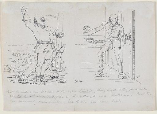 Ye Vow. Sitter: Benjamin Franklin Butler, 5 Nov 1818 – 11 Jan 1893. Date: 1880s. Record ID: npg_NPG.79.61.