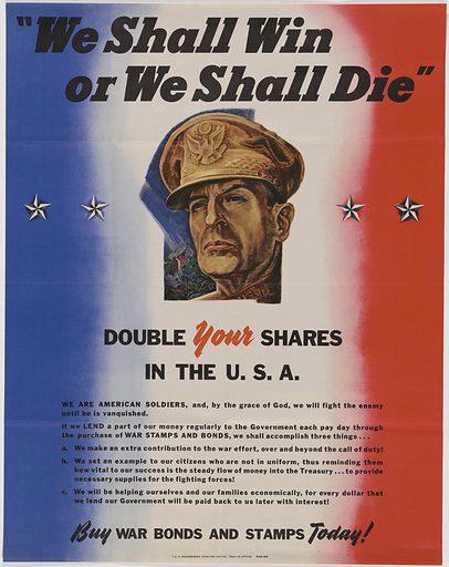 Douglas MacArthur. Sitter: Douglas MacArthur, 26 Jan 1880 – 5 Apr 1964. Date: 1940s. Record ID: npg_S_NPG.89.158.