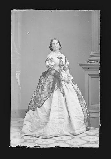 Mrs. John [Josephine] Hoey. Sitter: Josephine Hoey, c. 1822 – 1896. Date: 1860s. Record ID: npg_NPG.81.M908.
