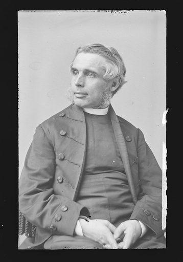 Bishop of Honolulu [Hiram Bingham]. Sitter: Hiram Bingham, 1831 – 1908. Date: 1860s. Record ID: npg_NPG.81.M925.